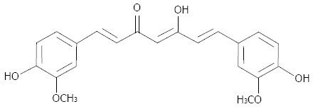turmeric curcumin chemical structure